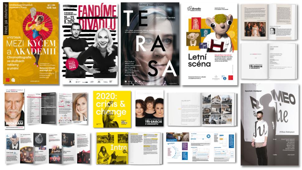 Plakáty, letáky, brožury adalší tiskoviny